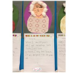 100th Day of School | Fluttering Through First Grade