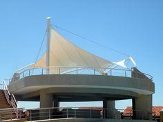 Cubierta Tensil - ARCHTEKTON - Construccion Tensile Arquitectura Vanguardista