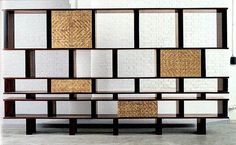 Charlotte Perriand  Jacaranda wood bookcase  1961