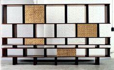 Charlotte Perriand  Jacaranda wood bookcase  1961