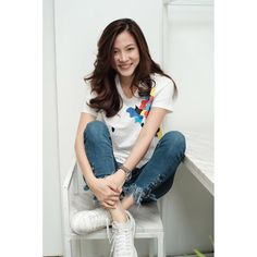 Thai Model, Asian Actors, Celebs, Celebrities, Ulzzang Girl, Fashion Outfits, Womens Fashion, Actors & Actresses, Cute Girls