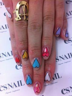 Nail Art - Nail Salon blog ~ AmebaGG daily es nail ...   image of white flower nail ♪