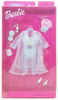 1999 Barbie Fashion Avenue Charm MIB Bathtime Chat Doll Clothes 25702 Mattel for sale online Barbie Doll Set, Barbie Sets, Baby Barbie, Barbie Doll House, Barbie Dream, Ag Dolls, American Girl Doll Movies, Ropa American Girl, Sewing Barbie Clothes