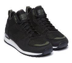 Adidas / Ransom Originals Military Trail Runner, Black, Olive