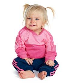 Adidas Crew joggedress infant fra Sportmann.no