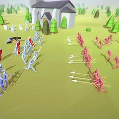 "Stage Your Own Epic (Virtual) Battles with the ""Totally Accurate Battle Simulator"" It's like low-res ""Game of Thrones"" - Core77"