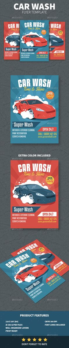 Car Wash Flyer Template Car wash, Flyer template and Template - car flyer template