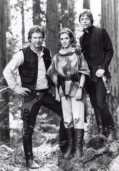Star Wars - Han Solo, Princess Leah, Luke Skywalker