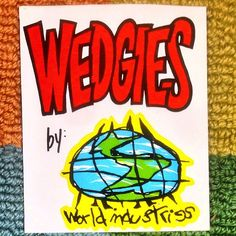 Wednesday nostalgia bomb brought to you by Wedgies (and a box that was never thrown away) by friendsoftype World Industries, Wednesday, Nostalgia, Cool Designs, Bring It On, Awesome, Box, Instagram Posts, Snare Drum