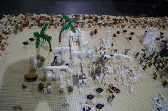 Battle in the Desert Lego Creations, Battle
