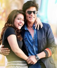 """ Nobody in this world can control my most beautiful, my most talented, my most loved, my best friend, the greatest actor that I've worked with! "" - Shah Rukh Khan [ about Kajol ] ✨"