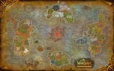 World of Warcraft Legion map