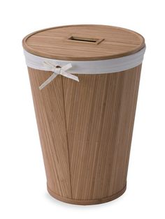 Ecostyles Round Hamper with Lid by Creative Bath on Gilt Home