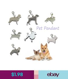Collars 2X Dog Metal Tag Disc Disk Beagle Pet Enamel Collar Necklace Pendant Key Rings #ebay #Home & Garden