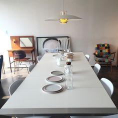 6인용 식탁 #식탁#6인용식탁#table#interior#interiorgram#가구#furniture#인테리어##chair#식탁의자#의자#조명 by limpson217 Cool Furniture, Furniture Design, Dining Room Design, Lamp Light, Table Settings, Dining Table, Inspiration, Home Decor, Biblical Inspiration