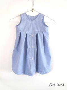 Chemise transformée en robe