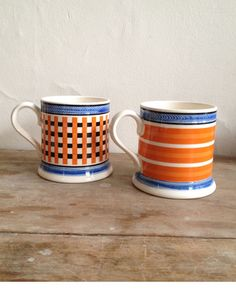 Once found in taverns and kitchens of the 1790s, these Stoke-on-Trent mugs are ready to usher in the New Georgian Era.