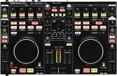 DenonProfessional DJ ControllerBlack