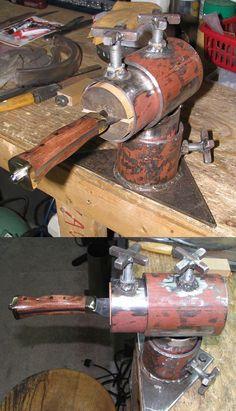 Knife maker's vise