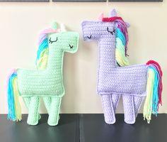 Crochet Ragdoll unicorn #kaytedids