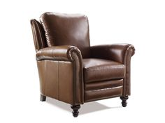 Shop for Bradington Young Richardson High Leg Reclining Lounger, 4866, and other Living Room Chairs at Merinos Home Furnishings in Mooresville, NC. The Richardson High Leg Reclining Lounger is offered in hundreds of leather options and includes a standard nailhead trim #9 in natural finish.