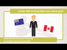 """t's a question we get frequently: """"If I graduate from an Australian law school, can I come back home to Canada to practice as a lawyer?"""""""
