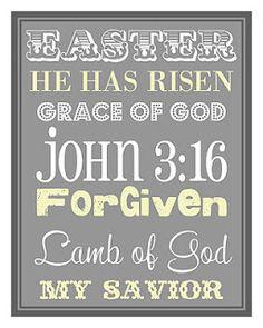 Free Easter Printable, www.detailorienteddiva.blogspot.com