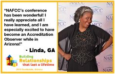 See what other providers and advocates of family child care had to say about NAFCC's Conference in Arizona last year! Don't miss out on this amazing opportunity to continue your professional development!