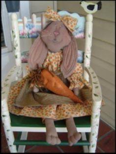 Primitive Doll Pattern Raggedy Rabbit SSOD MHA by Raggedyrhondas