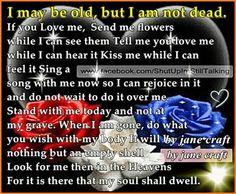 I may be old..