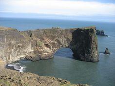 Iceland - Dyrholeay
