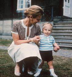 royalwatcher:  then Crown Princess Margrethe with Prince Joachim