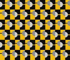 Masculine Frankl fabric by su_g on Spoonflower - custom fabric