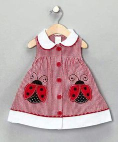 Some days, I wish I had another baby girl to dress in cute lady bug stuff! Some days, I wish I had another baby girl to dress in cute lady bug stuff! Little Dresses, Little Girl Dresses, Girls Dresses, Dress Girl, Dress Red, Cute Baby Dresses, Baby Outfits, Kids Outfits, Cute Outfits