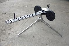 For plinkin' varmits! The Ruger 10/22 Gatling Gun. Omega Power Sports manufactures these in Carson City Nv.