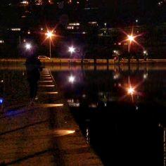 Joggen in der Nacht