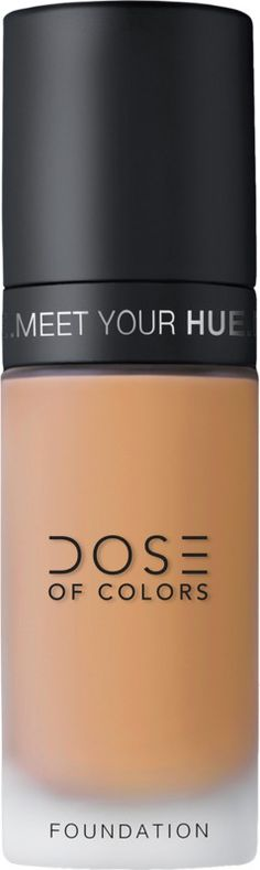 Dose of Colors Meet Your Hue Foundation is lightweight, with medium-to-full coverage that delivers a blurring effect which reduces the appearance of fine lines and skin imperfections. Beauty Sponge, How To Apply Foundation, Dose Of Colors, Iron Oxide, Cruelty Free, Meet You, Hue, Im Not Perfect, Fragrance