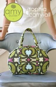 SOPHIA CARRY-ALL (REALLY cute versions out there - the best have contrast handles/piping)