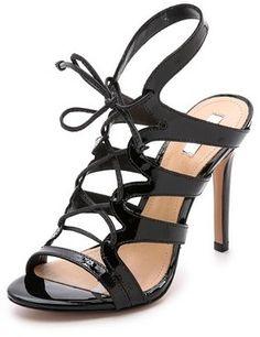 Schutz Dubiana Lace Up Sandals