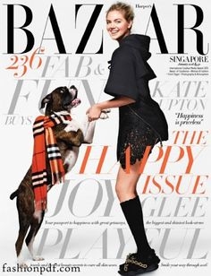 Kate Upton – Harper's Bazaar Singapore January 2016