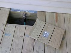 Image result for trap door in deck