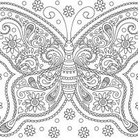 I Am Confident Self Affirmation Adult Coloring Page