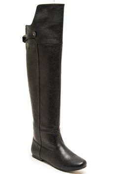 Neo Noir Over the Knee Boots - Black