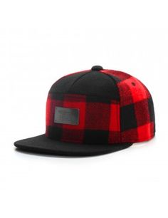 Cayler & Sons Black label Plated snapback cap red