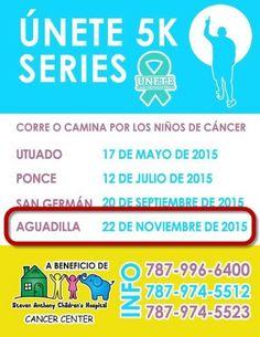 Únete 5K Series en su ultima parada 2015 - Aguadilla - Inscribete online!