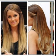 I usually hate ombre, but this is pretty...