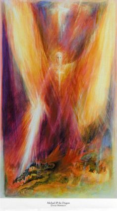 On my board of advisors Rudolf Steiner, St Michael, Spiritual Paintings, Chalkboard Drawings, Angel Warrior, I Believe In Angels, Prophetic Art, Angel Pictures, Saint Michel