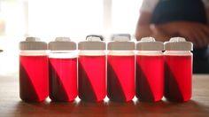 Centrifuged Strawberry Juice