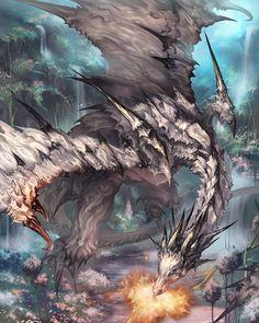 White Dragon(Evolution version) by antilous.deviantart.com on @deviantART