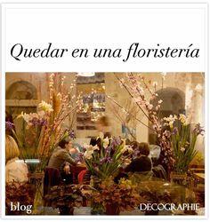 Quedar en una floristera